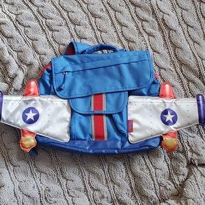 Bixbee spaceship backpack